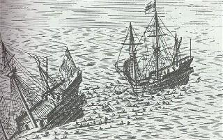 Pirate attack off of Somalia