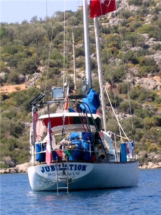 anchored, Kas